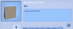 Retaining Wall Tall C