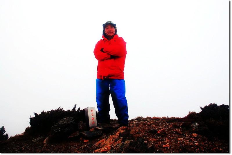 南雙頭山(Elev. 3356 m) 1
