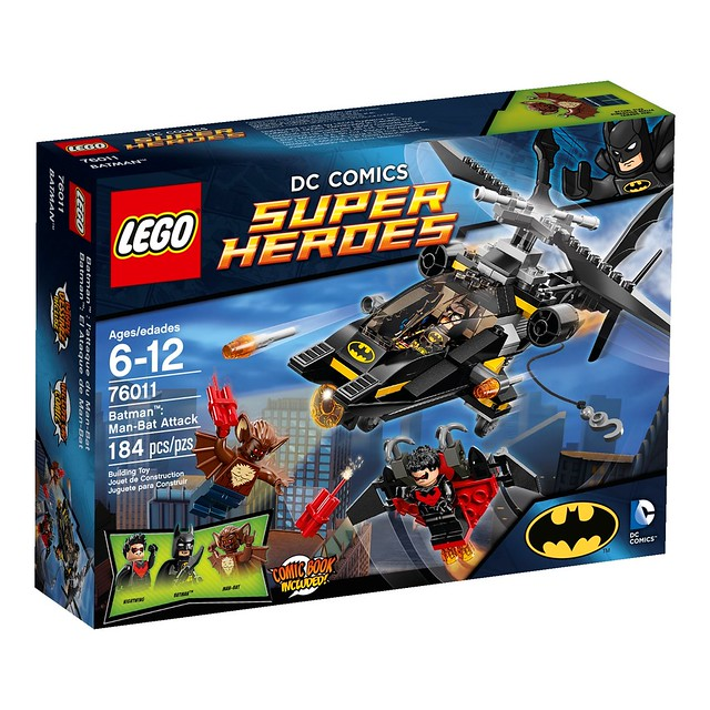 LEGO DC Comics Super Heroes 76011 - Man-Bat Attack
