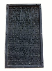 Photo of Thomas Paine black plaque