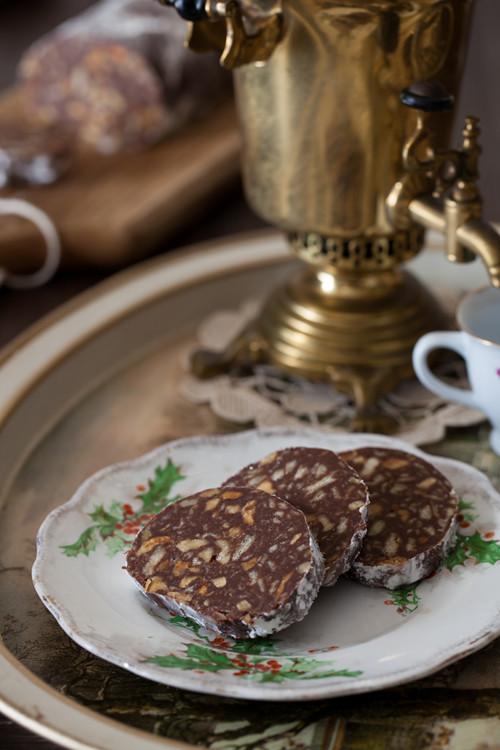 Chocolate Salami 4
