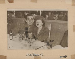 John Basilone and Carolyn Orehovic, Washington, DC, October 1943
