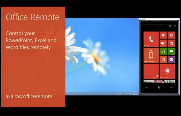 Office Remote для Windows Phone