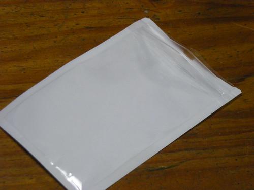 チャック付き袋の使い途