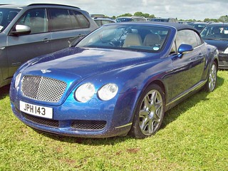 50 Bentley Continental GTC (2011)