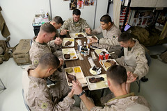 3/7 Marines bond during Thanksgiving [Image 5 of 5]