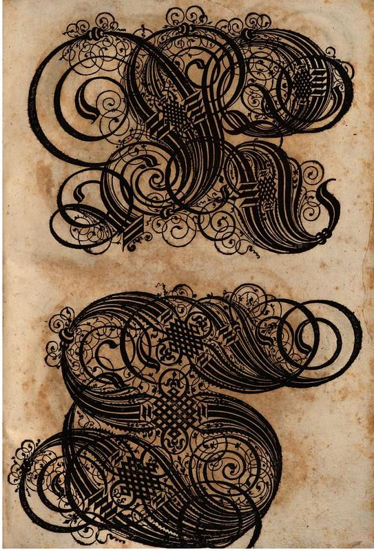 Paulus Franck - 'Schatzkammer Allerhand Versalien Lateinisch vnnd Teutsch', 1601 alphabet i