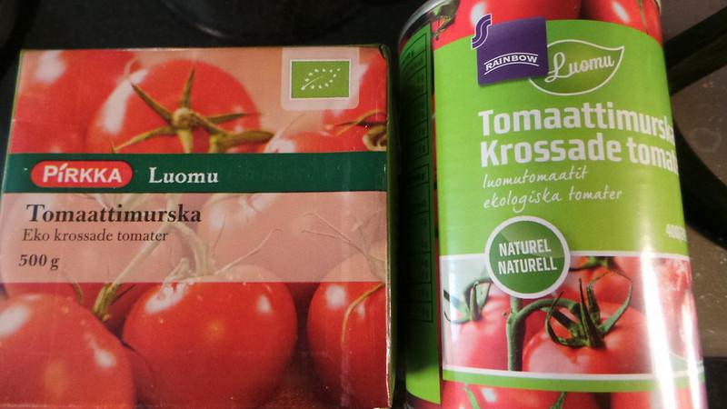 Linssi-tomaattikeitto