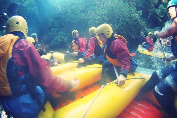 White Water Rafting New Zealand – Grade 5