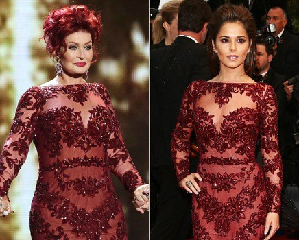 Who wore the Zuhair Murad floral embellished gown better: Sharon or Cheryl