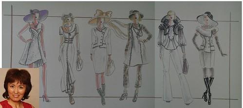 Elena(1) sketches collage