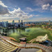 Singapore in Panorama baby! by Wameq R