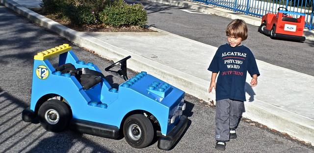 Legoland, Florida - Driving test ride