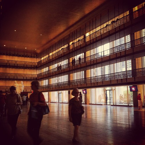 At the David H. Koch theater…