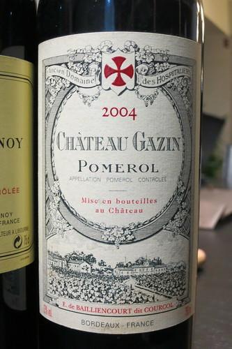 Chateau Gazin 2004