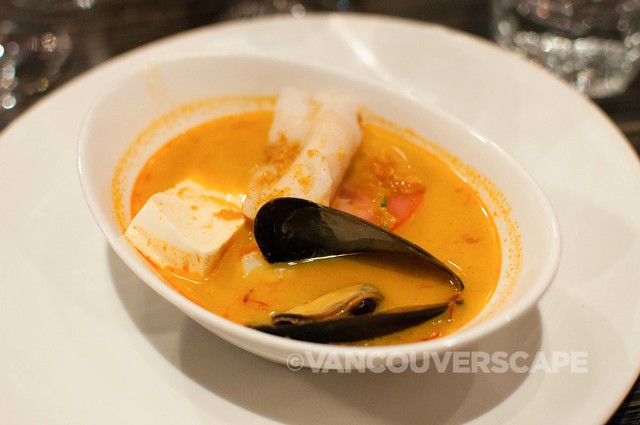 Kaya Malay Thai seafood soup