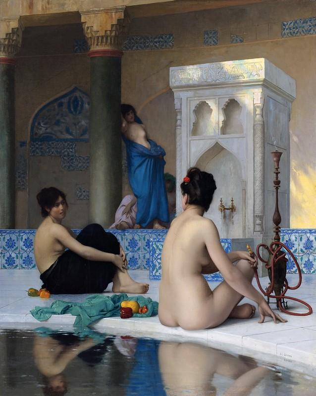 Jean-Léon Gérôme - After the bath