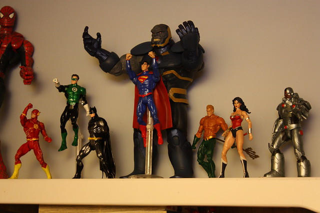 New 52 Justice League + Darkseid | Flickr - Photo Sharing! Justice League Unlimited Cyborg