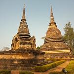 Image of Wat Sa Si near Ban Na. thailand 2013 asia southeastasia sukhothai historicalpark watsasi oldsukhothai december ประเทศไทย ราชอาณาจักรไทย สุโขทัย อุทยานประวัติศาสตร์สุโขทัย sukhothaimuangkao canonefs1755mmf28isusm 泰国 canon450d unescoworldheritagesite