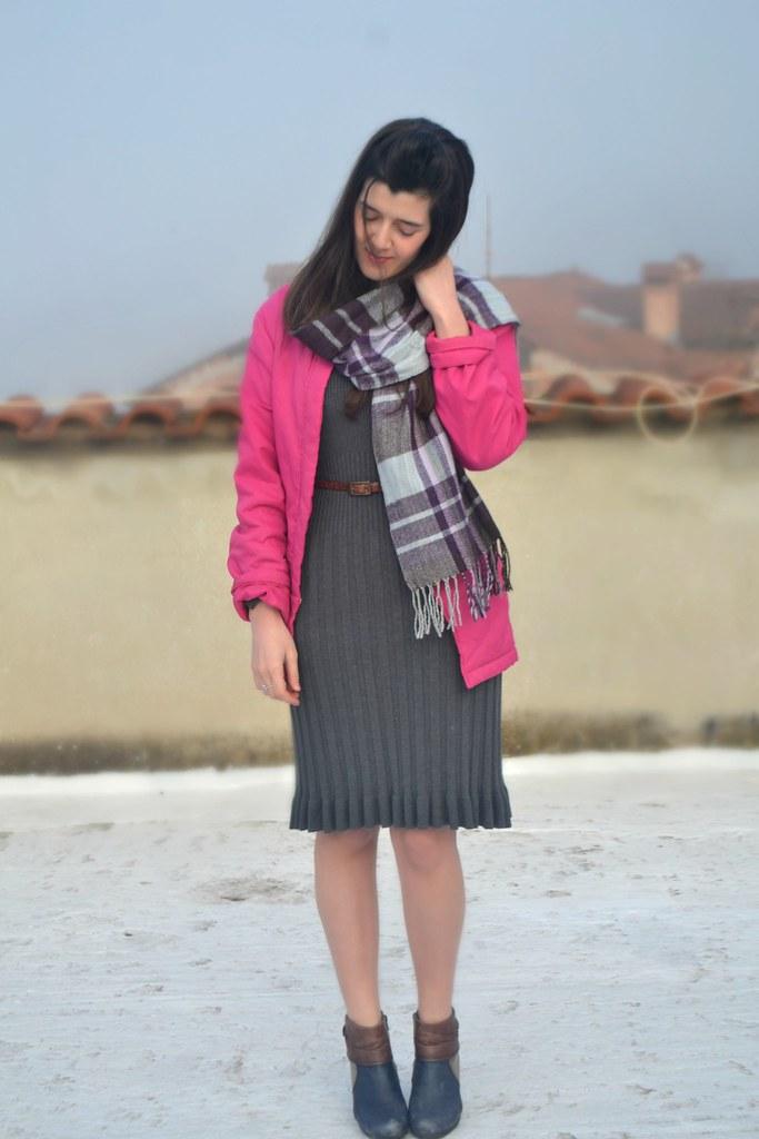 Fuchsia coat