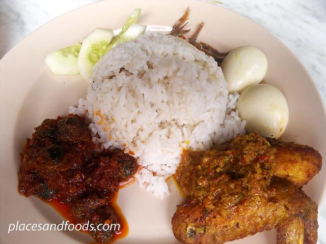 nik wan corner nasi lemak