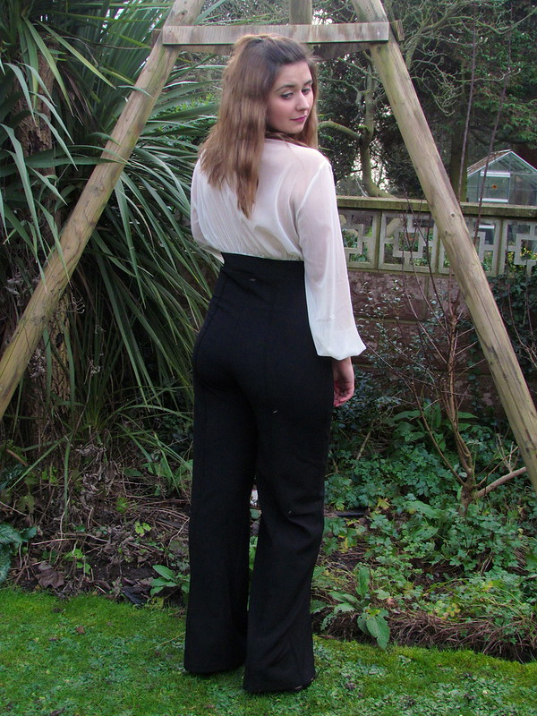 70s American Hustle Style Rare London Jumpsuit