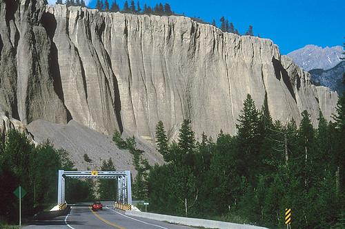 Hoodoo Canyon near Invermere on Windermere Lake, Columbia River Valley, BC Rockies, British Columbia, Canada