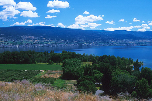 Sunoka Beach, Summerland, Okanagan Lake, Okanagan Valley, British Columbia, Canada