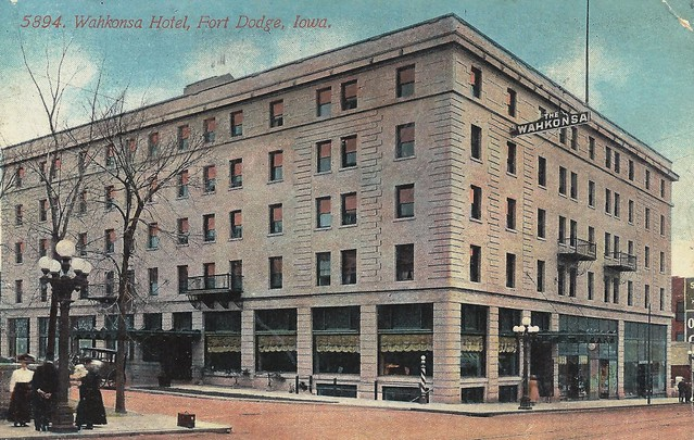 ft dodge iowa fort wahkonsa hotel flickr photo sharing. Cars Review. Best American Auto & Cars Review