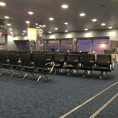 Yep, I'm the first one to the gate. 3.5 hrs to make up ...