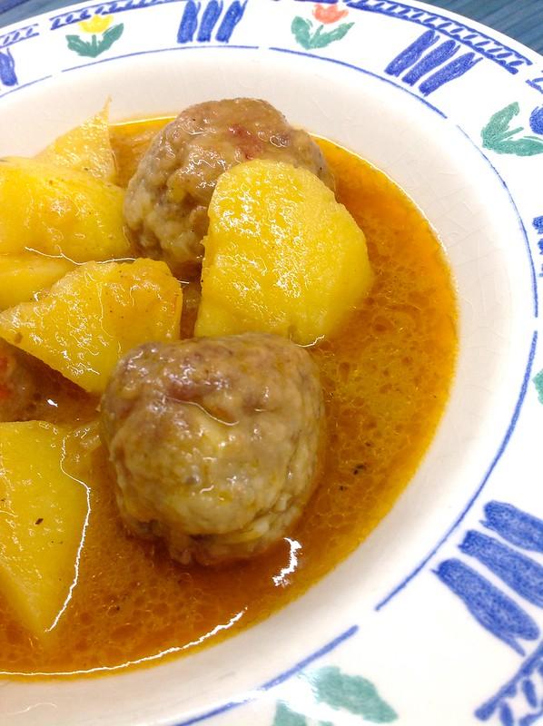Las recetas de mis amigas - Albondigas de patata ...