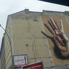 Big hands. Berlin.