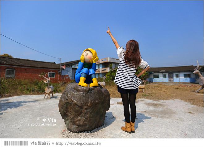 【台南後壁幾米】後壁土溝農村美術館‧農村就是美術館!幾米作品可愛現縱~41