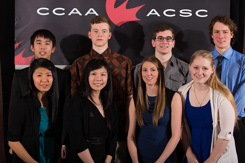 Anica Arduini, Lacey Banman and PACWEST Wildcard (2014 CCAA Nationals) (2)