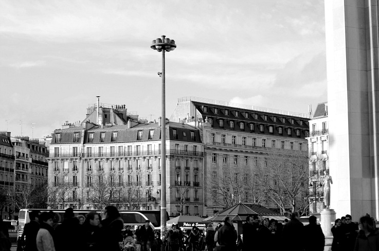 DSC_6278 black and white, Paris