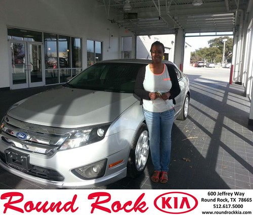 Thank you to Btandi Hodges on your new car from Rudy Armendariz and everyone at Round Rock Kia! #LoveMyCar by RoundRockKia