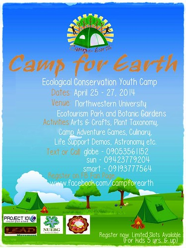 Camp for Earth teaser