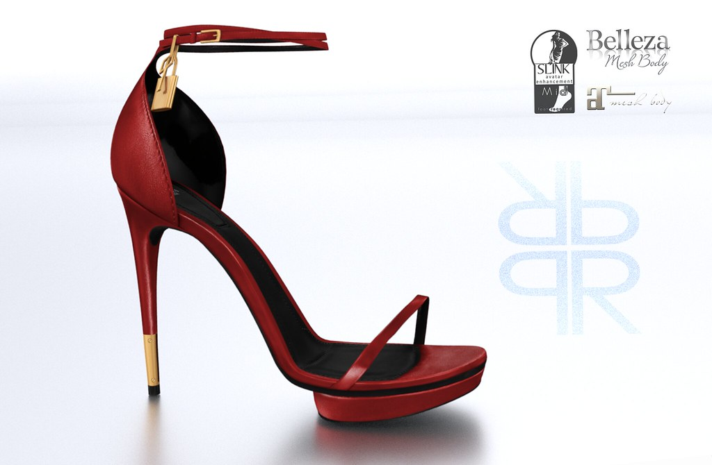 RAMA.Prosk - Maude Leather Sandals - SecondLifeHub.com