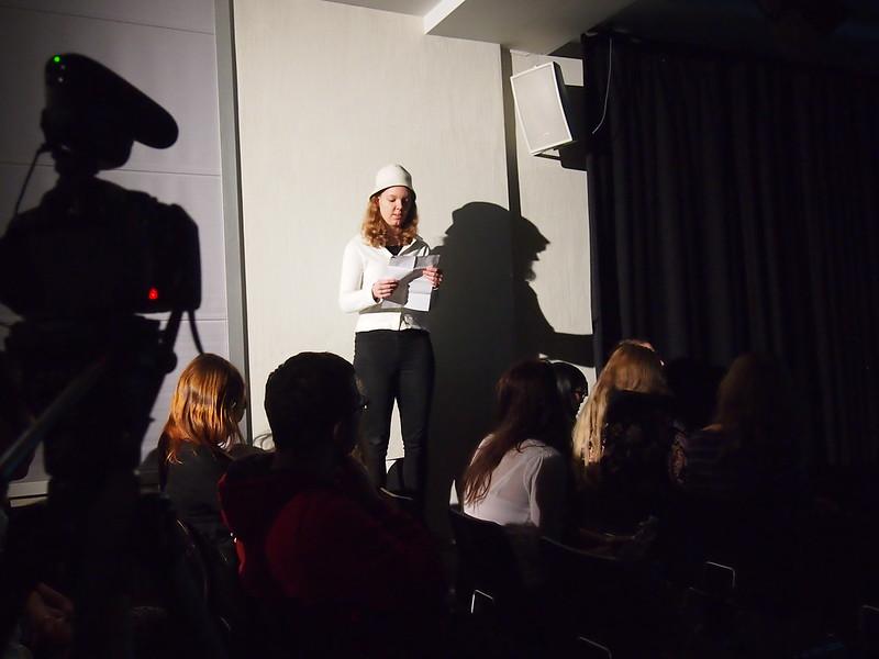 Präsentation der Werkstattgruppe Inszenierte Lesung