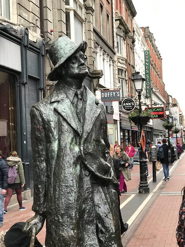 Joyce Sighting in Dublin