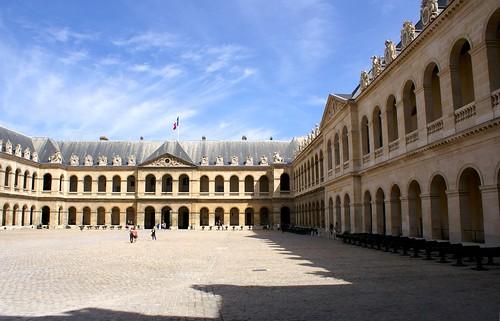 PICT0511/paris City/Hôtel des Invalides/Place d'Arme et entrée/