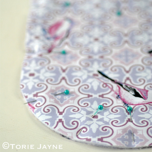 Oven glove sewing tutorial 1