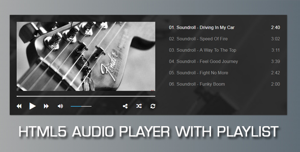 Audio Player with Playlist V2