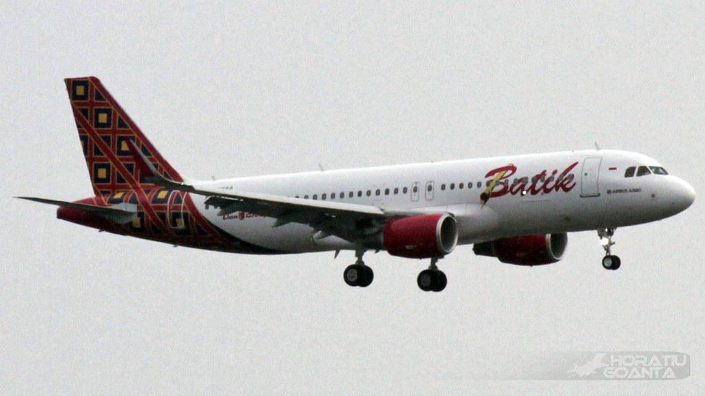 PK-LUR - A320 - Batik Air