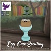 [ free bird ] Egg Cup Seedling Give Away Ad