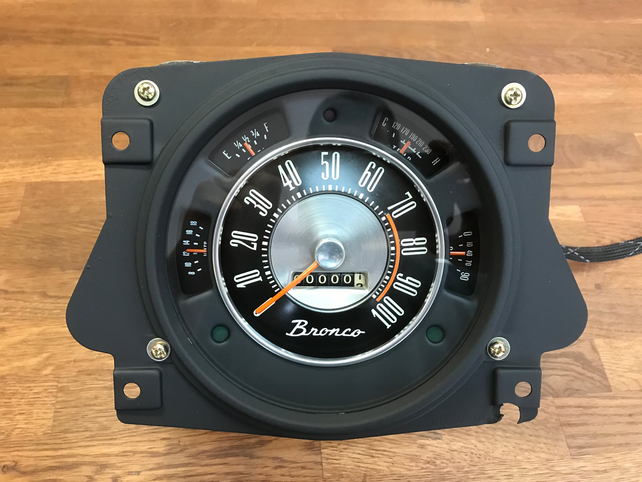 Gauge cluster refurbishing - ClassicBroncos com Forums