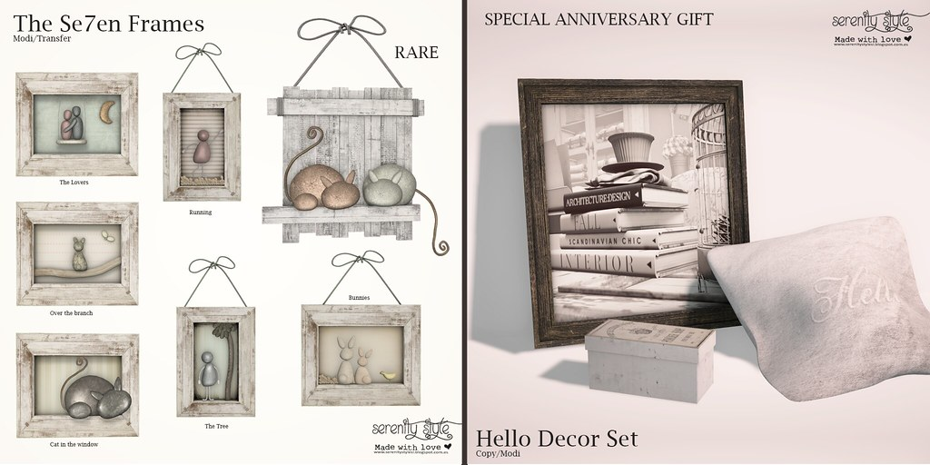 Serenity Style- Exclusive Gacha and Gift for The Project Se7en - SecondLifeHub.com