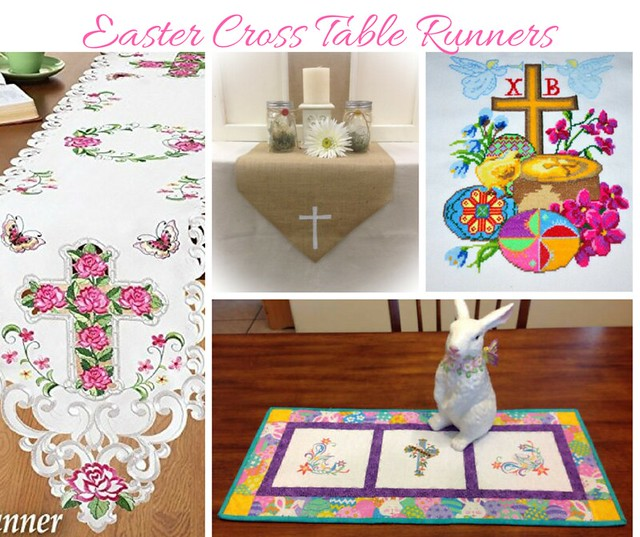 Easter Cross Table Runners
