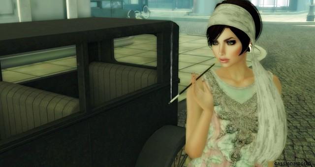 flapper girl - so fashionable during La belle Epoque!