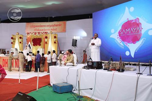 P.T. Perumal from Thanjavur, expresses his views